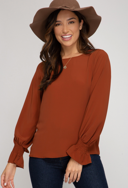 CHESTNUT CREEK BLOUSE