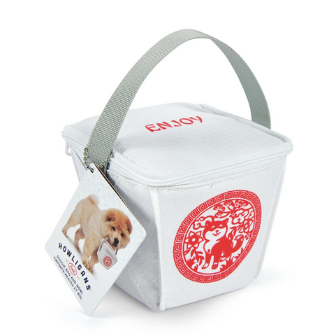 DOG TAKE OUT LUNCH BAG