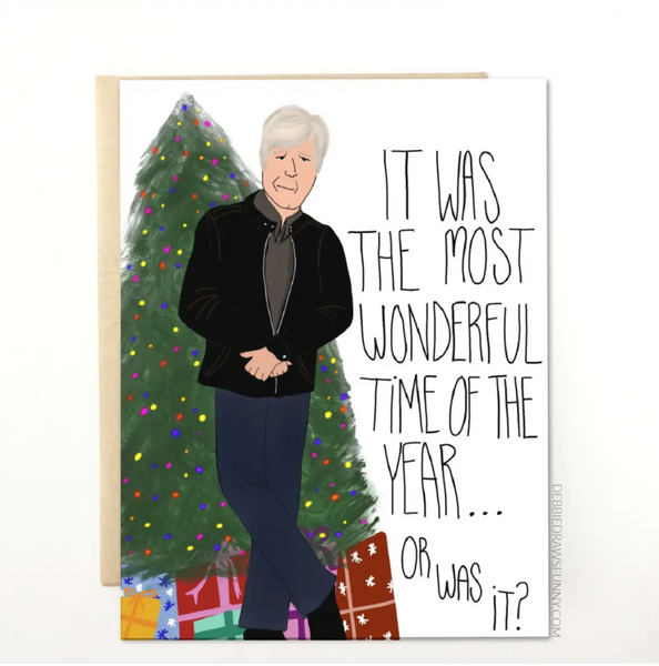KEITH MORRISON DATELINE CHRISTMAS CARD
