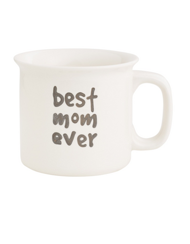 BEST MOM EVER ENGRAVED MUG