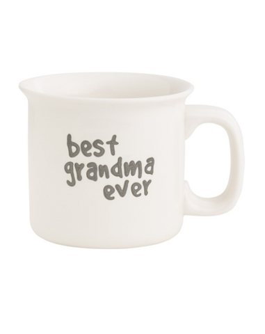 BEST GRANDMA EVER ENGRAVED MUG