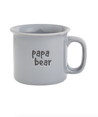 PAPA BEAR ENGRAVED MUG