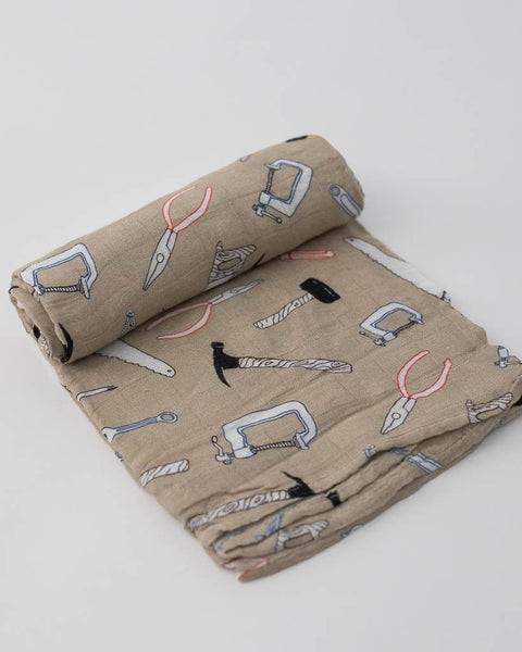 MUSLIN SWADDLE - WORK BENCH