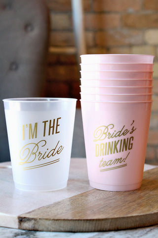 BRIDAL PARTY CUP SET