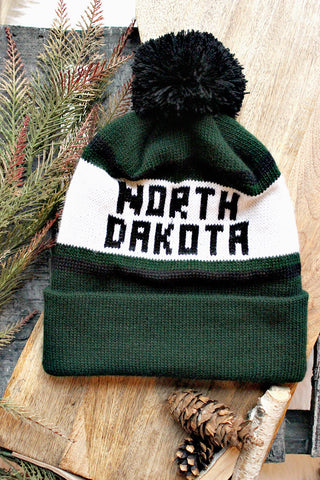 NORTH DAKOTA KNIT HAT