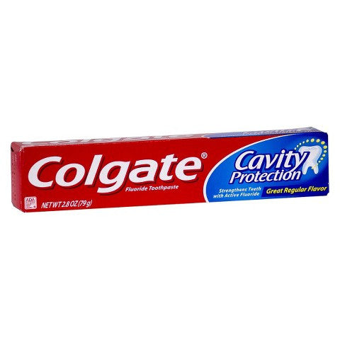 Colgate Cavity Protection Great Regular Flavor Toothpaste 3.0 oz - MyTravelPaQ