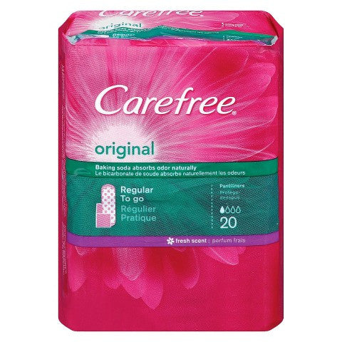 Carefree Original Fresh Scent Pantiliners - MyTravelPaQ