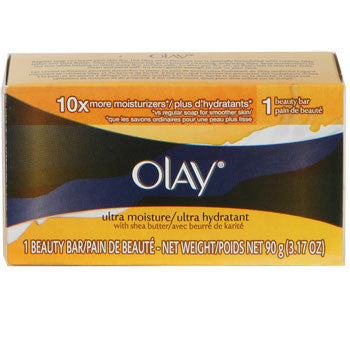 Olay Ultra Moisturizing Soap Bar, 3.17 oz. - MyTravelPaQ