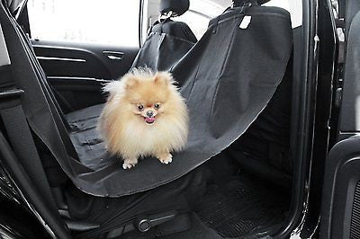 "Pet Dog Car Seat Cover for Rear Bench Seat - Waterproof and Washable - 58"" x 57"" - MyTravelPaQ  - 1"