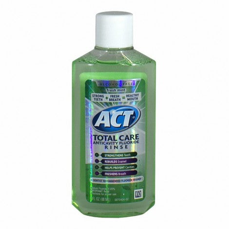 Act Total Care Mint Mouthwash, 3.0 oz. - MyTravelPaQ
