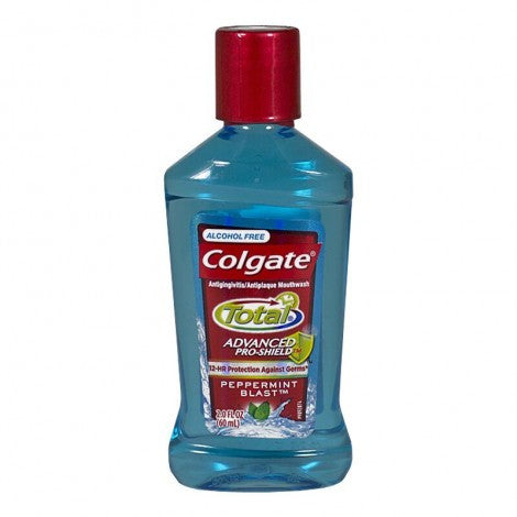 Colgate Total Alcohol Free Mouthwash, 2.0 oz - MyTravelPaQ
