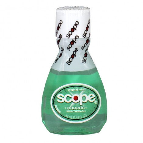 Scope Mint Mouthwash, 1.49 oz. - MyTravelPaQ