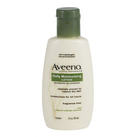 Aveeno Daily Moisturizing Lotion Travel Size, 1 oz. - MyTravelPaQ