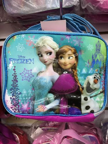 Disney Frozen Lunch Bag Lunch Box Anna Elsa And Olaf