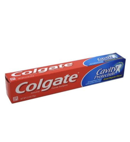 Colgate Toothpaste Cavity Protection Regular 2.5 Ounce (4 Pack)