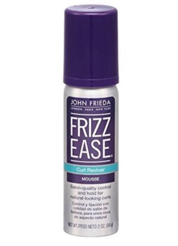 3 Pack - John Frieda Frizz-Ease Mousse, Curl Reviver 2 oz