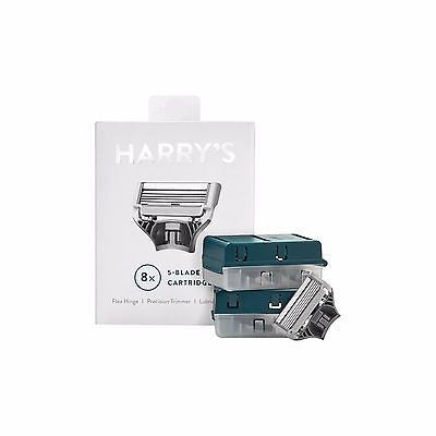 Harry's Men's Razor Blade Refills - 8 ct - MyTravelPaQ  - 1
