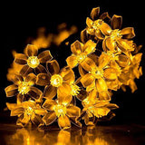 Solar String Light, 50LED 23FT Outdoor Waterproof Flower Light Warm White - MyTravelPaQ  - 6