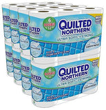 2 Boxes of Quilted Northern Ultra Soft & Strong® Toilet Paper 48 Double Rolls