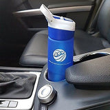 Sports Water Bottle (24 Oz)- Leakproof lid with straw, 1-click Open, BPA Free - MyTravelPaQ  - 6