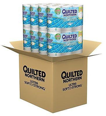 Quilted Northern Ultra Soft & Strong® Toilet Paper 48 Double Rolls - MyTravelPaQ  - 1