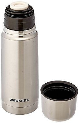 Uniware Stainless Steel Vacuum Flask Coffee Bottle Thermos Container Jar, 350ML