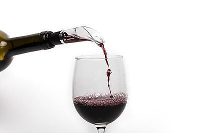 Vino Aria - Red Wine Aerator - Unique Drop Stop and Pourer - Bar Wine Accessory - MyTravelPaQ  - 1