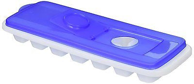 Uniware Plastic Ice Cube Tray with Cover, BPA Free