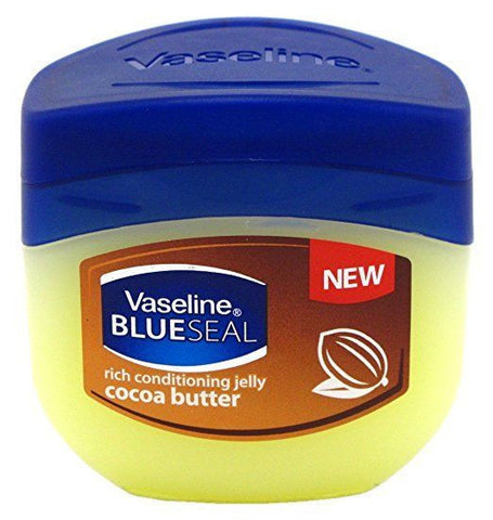 3 Pack VASELINE BLUESEAL] Petroleum Jelly Conditioning Jelly COCOA BUTTER 100ml