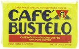 Cafe Bustelo Cuban Coffee Espresso, 6-Ounce Bricks (Pack of 1 / 2 / 4 / 8 / 12)