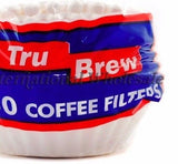 "200 ct. Paper Coffee Filters - 3 3/16"" Base x 2 3/8"" Deep (8.1cm x 6.0cm)"