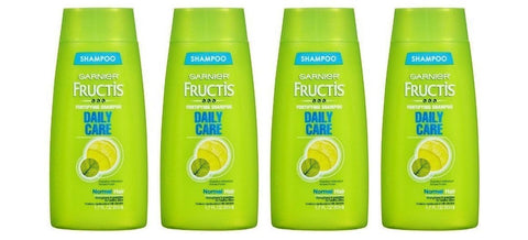 4 Garnier Fructis Daily Care Fortifying Shampoo, Travel Size 1.7 oz Each