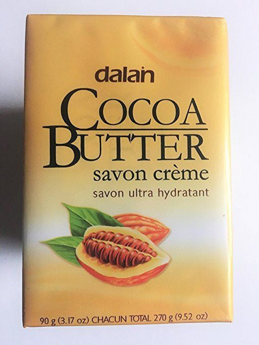 3-Pack Dalan Cream Soaps - (Cocoa Butter)