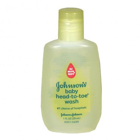 Johnson's Head-to-Toe Baby Wash, 1 oz. - MyTravelPaQ