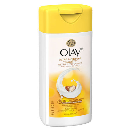 Olay Body Wash Ultra Moisture Shea Butter, 3.0 oz. - MyTravelPaQ
