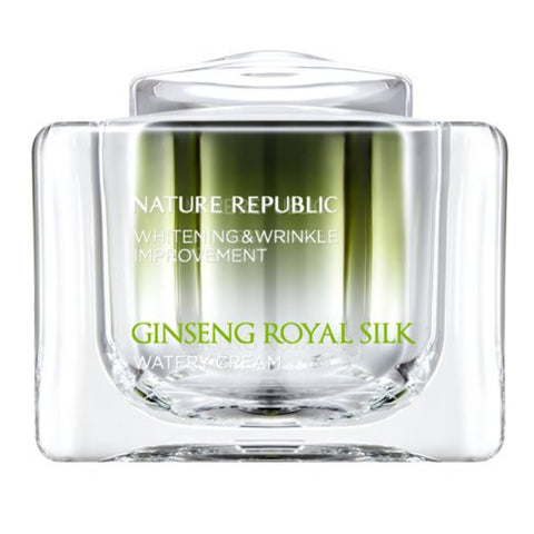 Nature Republic - Ginseng Royal Silk Water Cream, 60g - MyTravelPaQ