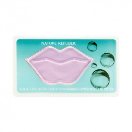 Aqua Collagen Solution Marine Hydrogel Lip Patch - MyTravelPaQ