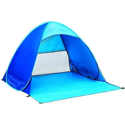 Outdoor Anti UV Pop Up Instant Portable Cabana Beach Tent Folding Sun Shelter - MyTravelPaQ  - 1