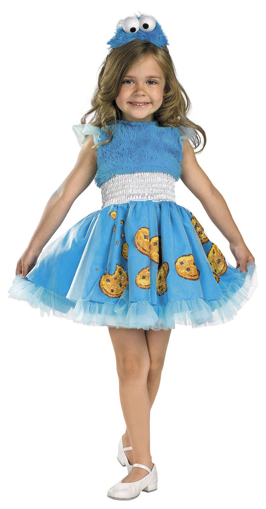 Children Frilly Cookie Monster Costume