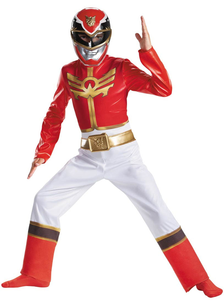 Children's Red Power Rangers Costume