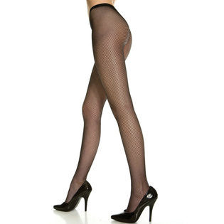 6edb7152f Plus Size Seamless Fishnet Pantyhose