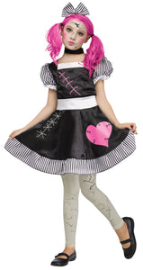 Children's Broken Doll Costume