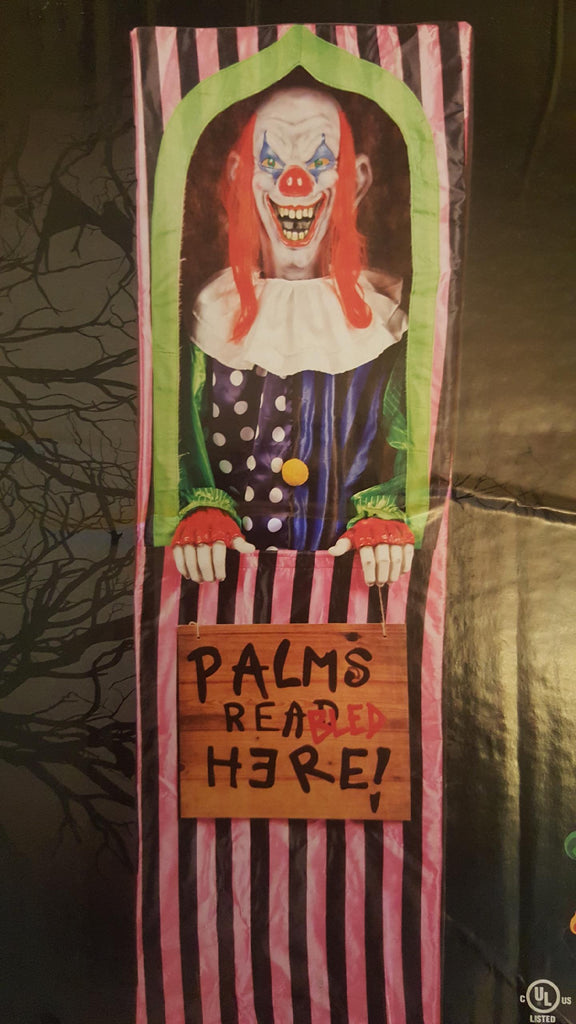 Animated Palm Bleeder Clown Prop