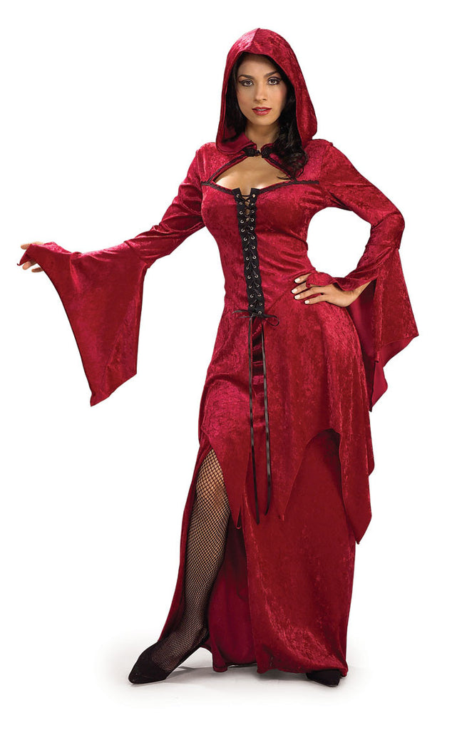 Adult Crimson Vampiress Costume