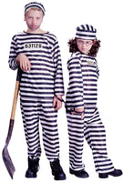 Kid Jailbird or Convict Costume