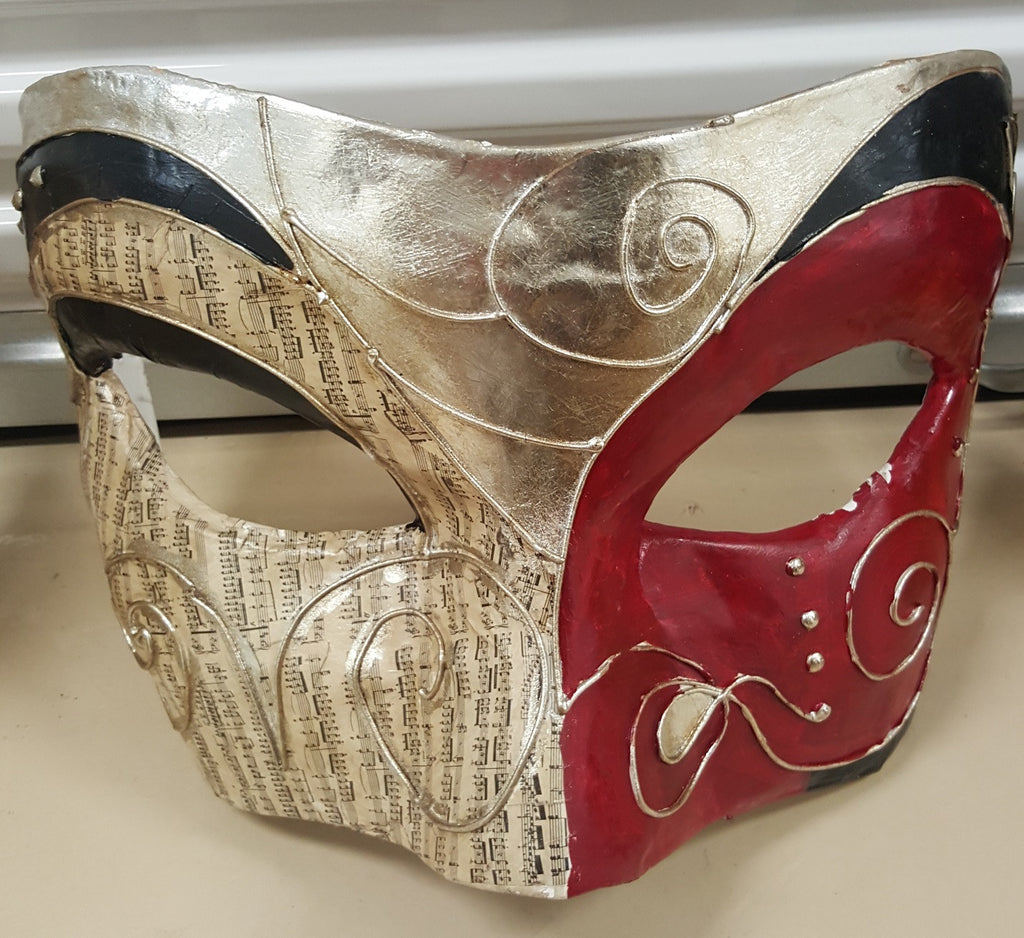 Large Red Masquerade Mask Wall Decor Ripstershalloweenshop Ca