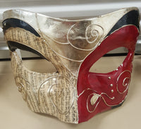 Large Red Masquerade Mask Wall Decor