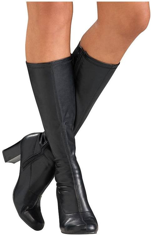 Black Go Go Boots