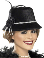 1920's Fancy Cloche Hat