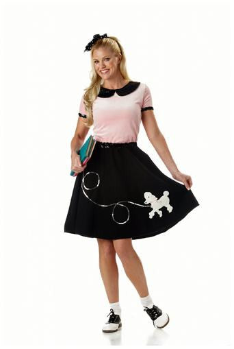 1950's Hop With Poodleskirt